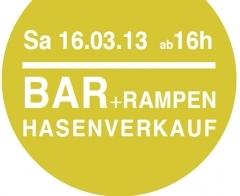 Bar + Rampen Hasenverkauf